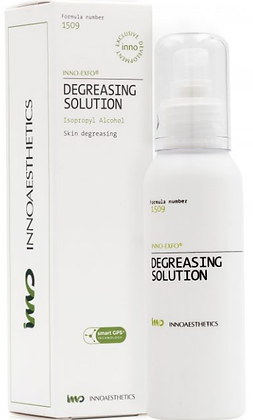DEGREASING SOLUTION 100 ML. Limpieza Previa Tratamientos Dermatológicos