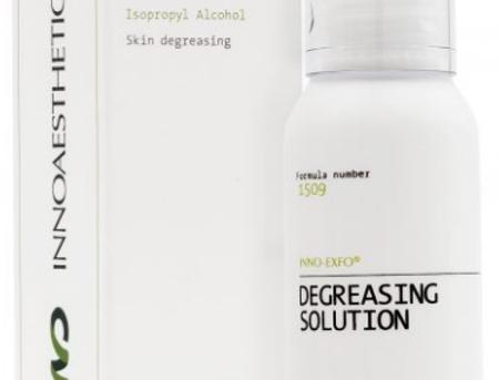 DEGREASING SOLUTION 100 ML. Limpieza Previa Tratamientos Dermatológicos