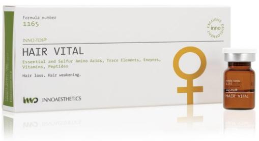HAIR VITAL 10 ML. Mejora la Alopecia Femenina