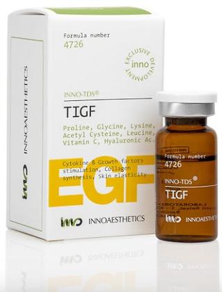 TIGF 10 ML. Estimulante Factores de Crecimiento