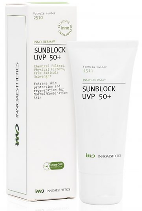 SUNBLOCK UVP 50 + NORMAL SKIN 60 GR. Bloqueador Solar Piel Normal