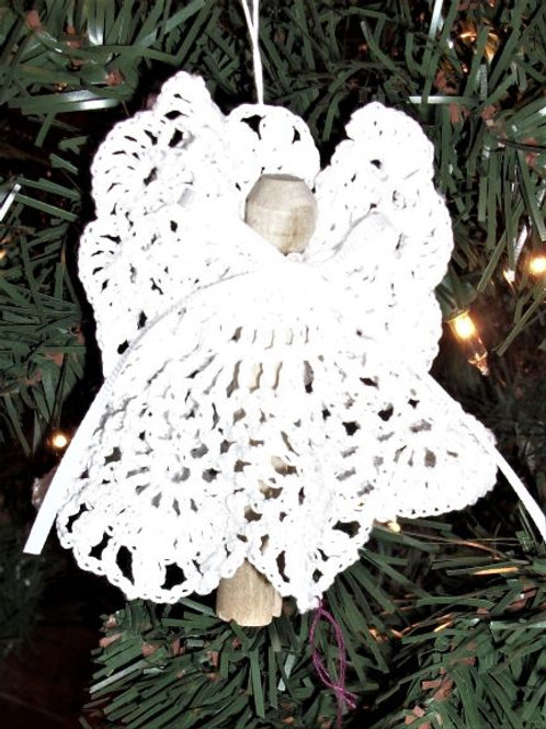 Old Fashioned Clothespin Angels