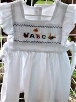 ABC English Smocked Pinafore