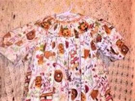 Fall Fabric Dress with Jack-o-Lanterns, Size 2