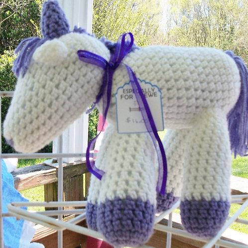 Purple and White Unicorn