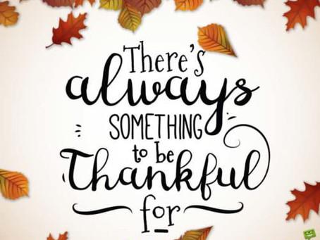 Memorable Thanksgiving