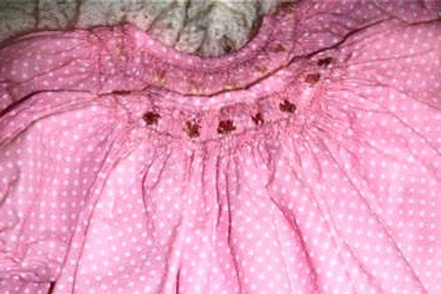 Pink Dresses with Hearts , 6 months, 12 months