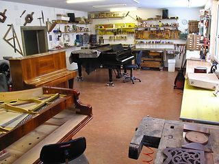 Klaviere Werkstatt - Hainburg/Donau, Nibelungengasse 20