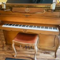 Schimmel chippendale Pianino 112 cm
