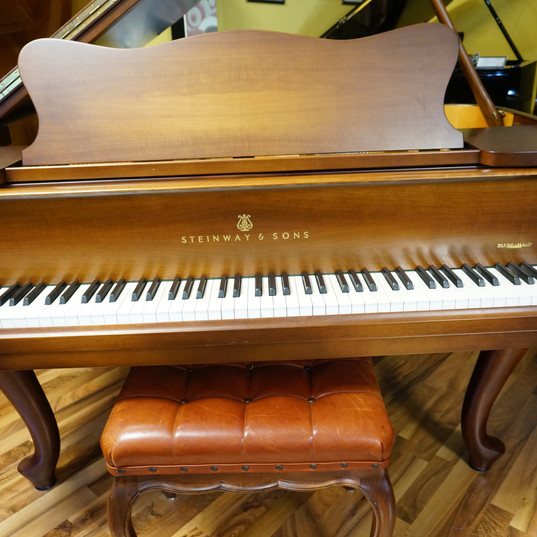 Steinway & Sons Mod. O nuss Chippendale