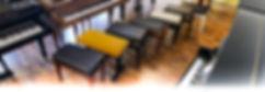 Klavierbänke für Piano und Flügel - Piano & Art Galerie