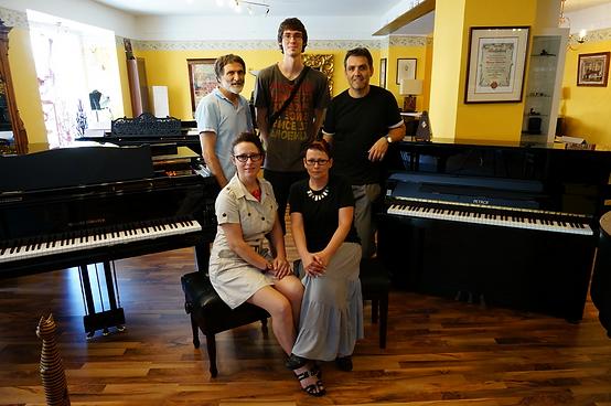 Piano & Art Galerie Team, Pianosalon