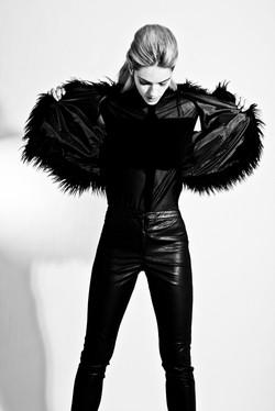 Fashion portfolio sedcard Schweiz