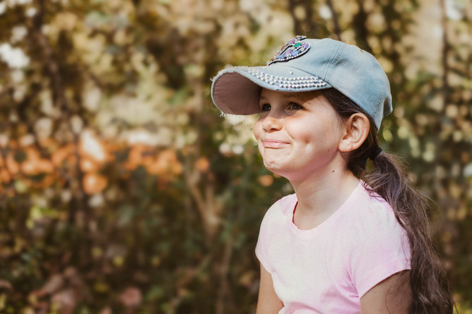 Kinderfotografie im Herbst