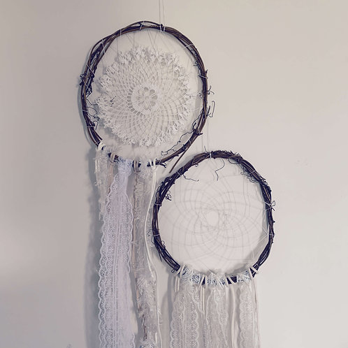 2 for 1 Natural Dreamcatchers
