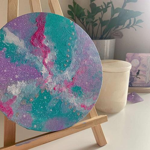 Age of Aquarius Galaxy Canvas