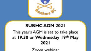 Notice of 2021 AGM