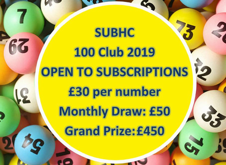 SUBHC 100 Club is back!