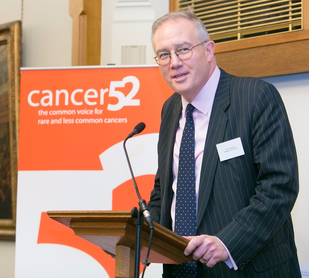 John Baron MP, host of Cancer52's parliamentary reception