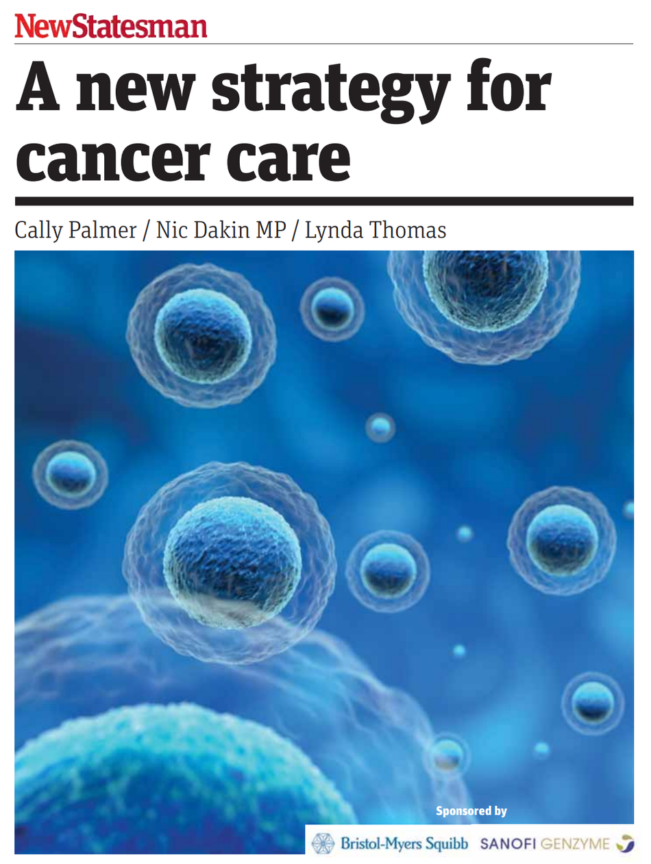 Cancer52 in the New Statesman