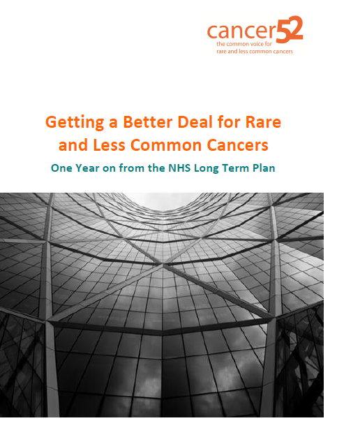 Getting a Better Deal for Rare and Less Common Cancers - One Year on from the NHS Long Term Plan