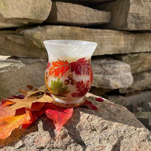 Chandelle Feuilles d'automne