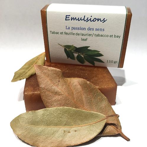Savon Tabac et feuilles de laurier