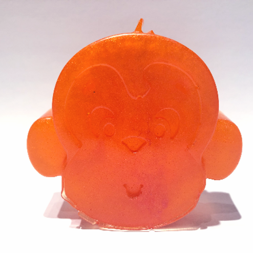 Duo d'animaux Fraise et Tangerine