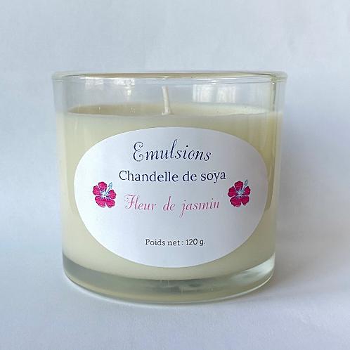 Chandelle Fleur de jasmin