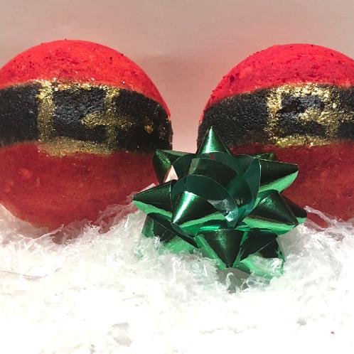 Bombe de bain Bedon du père Noël Pomme et cannelle