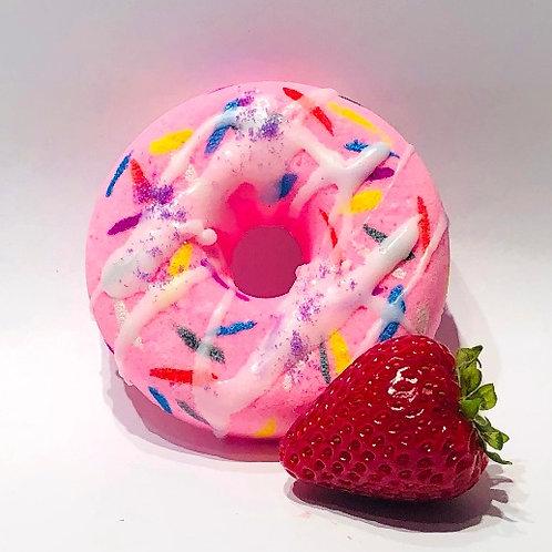 Bombe de bain Beignet à la fraise