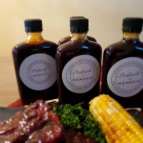 Honey Rum BBQ Sauce - 8oz Flask