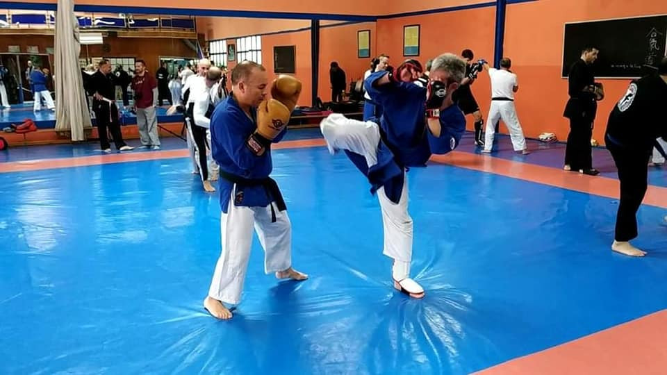 kick boxing en defensa personal