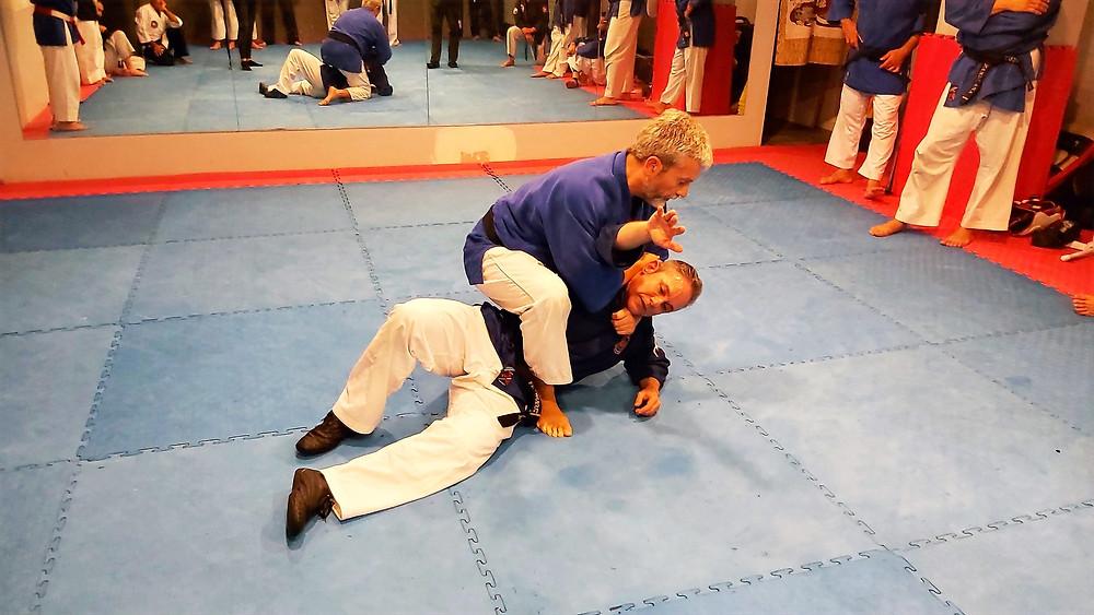 jiujitsu en defensa personal