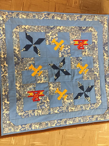 Baby Quilt ~ Airplanes