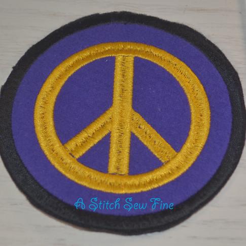 Peace Symbol Patch