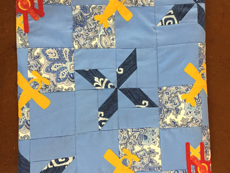 A High Flying Baby Quilt