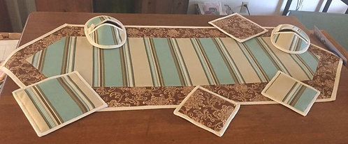 Quilted Table Runner ~ Hot Pads