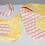Thumbnail: Baby Soft Cotton Flower Bib and Burp Cloth