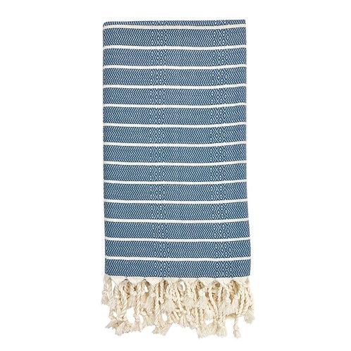 Geo Stripe Turkish Towel