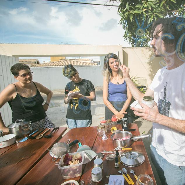 Atelier à Casa Aho, Aracaju, Brésil