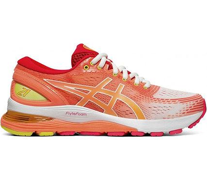 Scarpa Running Asics Gel- Nimbus 21 LS Light Shoes Donna Tg 38