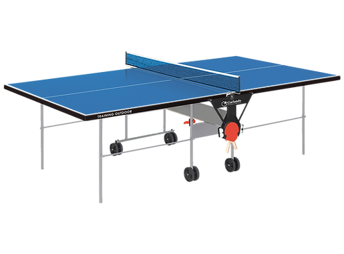Ping Pong Garlando Training Outdoor Piano Gioco Blu