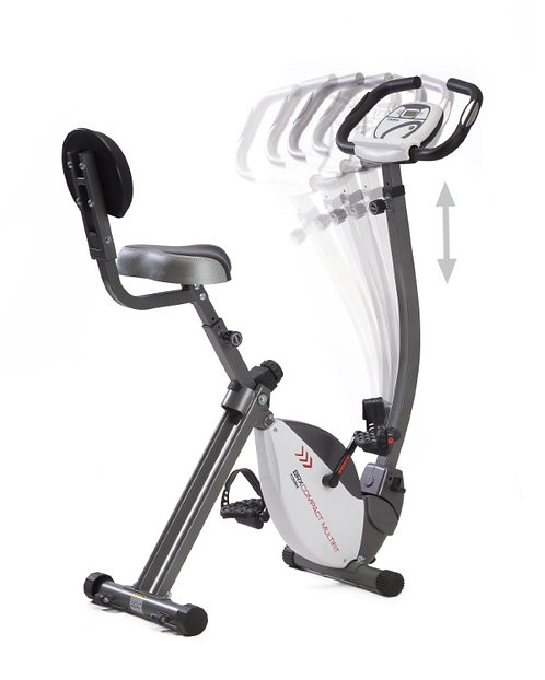 Cyclette magnetica Toorx BRX Compact Multifit volano 6Kg