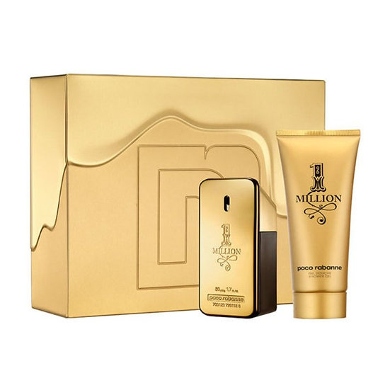 Paco Rabanne 1 Million Gift Set 100ml EDT + 100ml Shower Gel