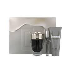 Paco Rabanne Invictus Gift Set 50ml EDT + 10ml EDT + 100ml Shower Gel