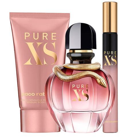 Paco Rabanne Pure XS for Her Gift Set 50ml EDP + 75ml Body Lotion + 6ml EDP