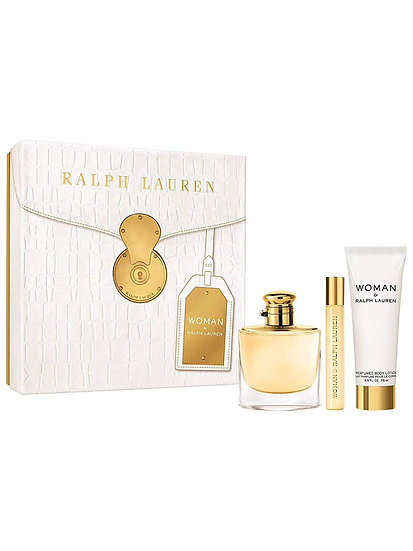 Ralph Lauren Woman By Ralph Lauren Gift Set 50ml EDP+10ml EDP + 75ml Body Lotion