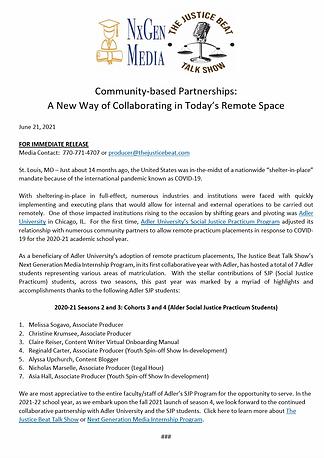 Community-based Partnerships