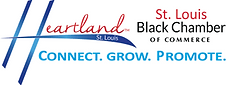Heartland St. Louis Black Chamber of Commerce logo